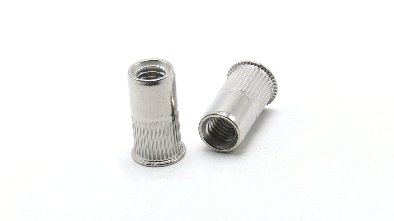 Aluminum Rivet Nuts with Knurled