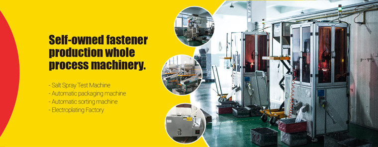 Self-owned fastener production whole process machinery - OuKaiLuo